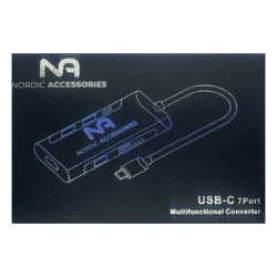 Nordic Accessories 7-in-1 USB-C hub - Dockingstation 14