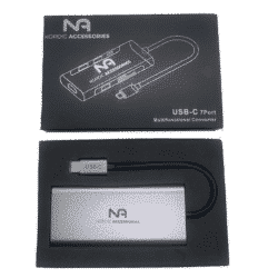 Nordic Accessories 7-in-1 USB-C hub - Dockingstation 15