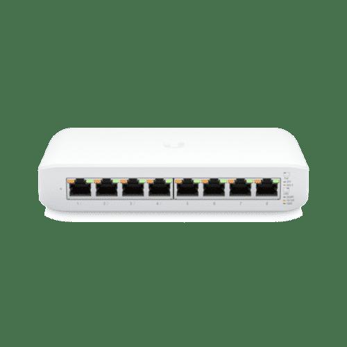 Ubiquiti UniFi Switch Lite 8 PoE - USW-Lite-8-PoE 1