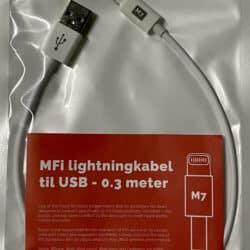 MFi USB - Lightning kabel - M7 9