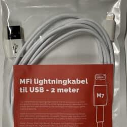 MFi USB - Lightning kabel - M7 10