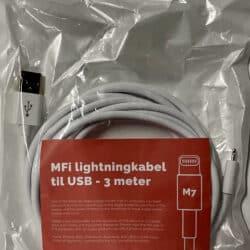 MFi USB - Lightning kabel - M7 11