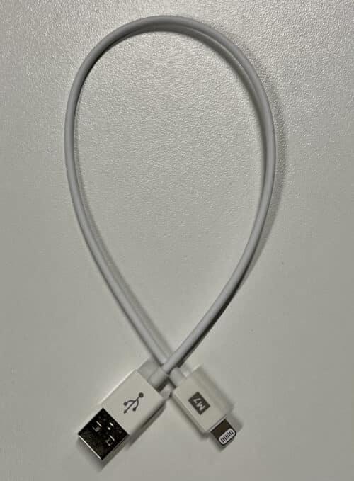 MFi USB - Lightning kabel - M7 1